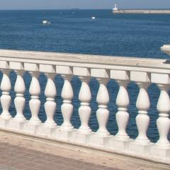 Rail-posts from white marble to buy Ternopil
