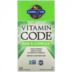 Витаминный код,  сырой B-комплекс Garden of...