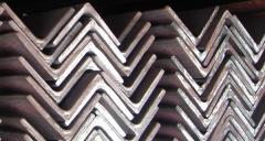 Уголки металлические 20x3,4; 25х3,4; 50х5,6;