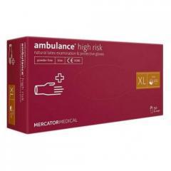 Перчатки медицинские AМBULANCE (XL)...