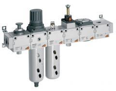 Устройства подготовки воздуха (фильтры, регуляторы