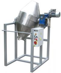 The mixer for dry loose products (A drunk barrel)