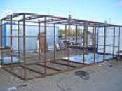 Frameworks construction metal