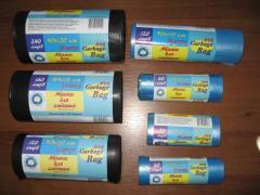 Пакеты для мусора 60 л (15 шт.) прочные