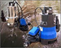 Pumps drainage and fecal