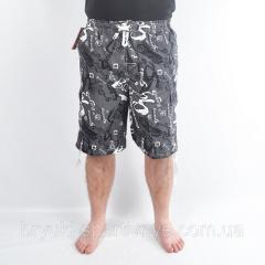 Бриджи мужские пляжные - морской мотив...