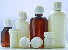 Medical container, bottles