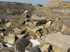 Quarrystone landscape, perfec