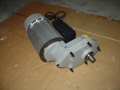 The motor reducer for concrete mixer 220v; 0,9kvt,