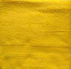 Рушник махровий жовтий