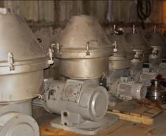 Очиститель сыворотки ОХ-2С 10 т/час