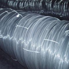 Spring wire ф0,6-5CB-08Г2С, 65, 60C2A, galvanized