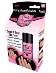 Гель для укрепления и роста ногтей Pink Armor Nail
