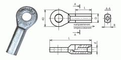 Зажим заземляющий ЗПС-35, ЗПС-50, ЗПС-70, ЗПС-120