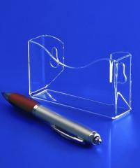 Визитница навесная, акрил 1.8 мм, габариты (ШхВхГ)
