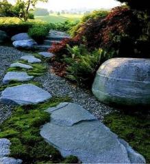Заказать каменистый сад, заказать