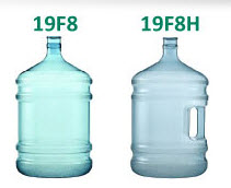 Large bottles for drinking water