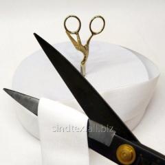 Отрез кратно 1 м. резинка для шитья 5 см. Белая (6-777-703)
