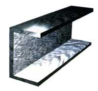 Швеллер стальной с параллельными гранями полок