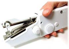Автономная,  компактная,  швейная ручная...
