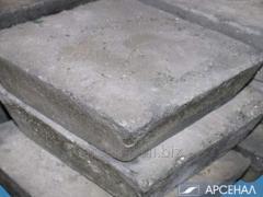El antimonio el lingote de metal