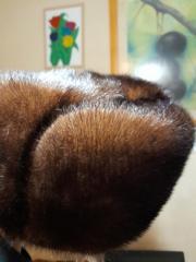 Men's mink hat