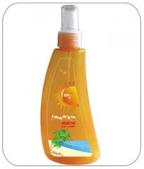 Oil for suntan