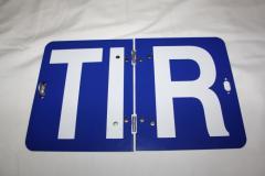 Таблица TIR металическая (складная) для грузовиков