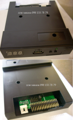 The disk drive 3.5 emulator on usb for a
