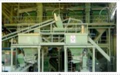 Lines are production. Line of crushing and mixing