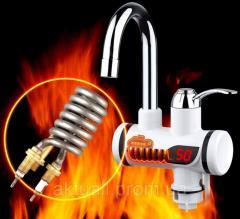 Flowing water heaters
