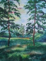 Картина акварель(авторская)