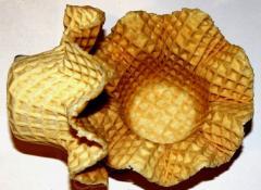 Sugar basket for soft ice cream wholesale