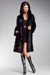 Mink fur coat. Poperechka. To buy in Ukraine