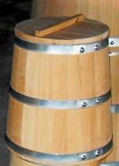 Дубовая бочка для солений (кадка), 30 л