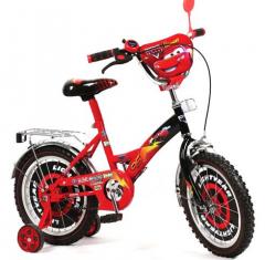 Велосипед детский 2-колесный - ТАЧКИ (диаметр