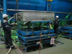 Car of vacuum and film molding MF-18/30