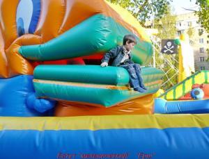 "Mechanical"" trampoline"
