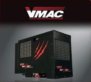 Мобільний гвинтовий компресор VMAC з дизельним