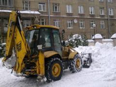 Уборка участка Киев. Уборка дачных участков.