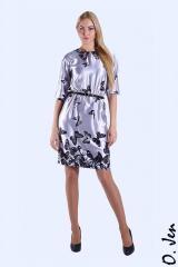 Летнее шелковое платье модель № 01244