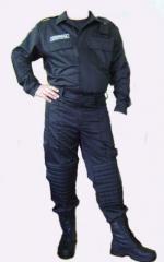 Униформа для охраны. Костюм охранника.