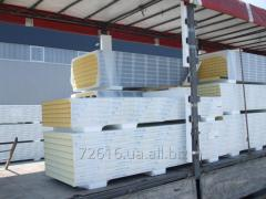 Krovelniye a panel sandwich thickness is 40-150 mm