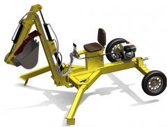Mobile micro PME-1 excavator