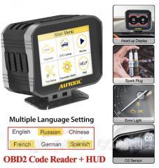 Бортовой компьютер AUTOOL X80 Obd2 Hud OBD2...