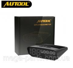 AUTOOL X100 Универсальный Авто HUD GPS Спидометр