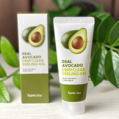 Пилинг-гель FarmStay Real Avocado Deep Clear...
