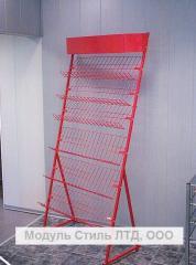 Rack show-window (racks exhibition)
