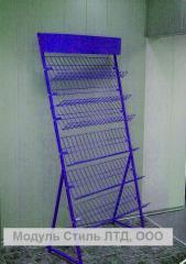 Rack exhibition (rack show-window)