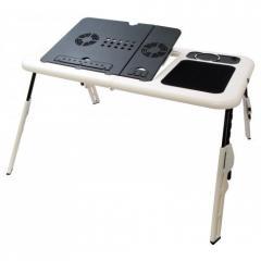 Подставка столик для ноутбука с 2-мя USB кулерами